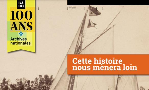 100ans des archives nationales du Québec